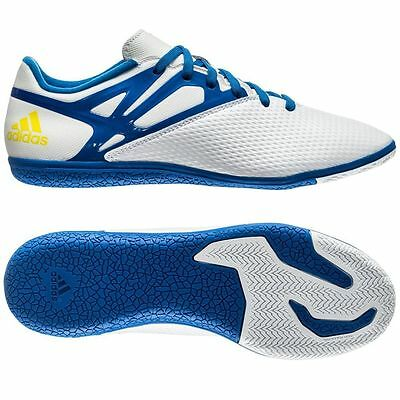 adidas F 15.3 TRX IN Messi Edt Indoor 2015 White / Blue  KIDS- YOUTH