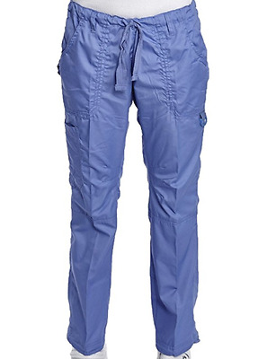 Stylish Scrub Cargo Pockets Pants  - Hey 3601