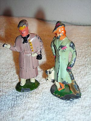 2 Pre-War Fashionable Ladies Out Shopping Great Britian