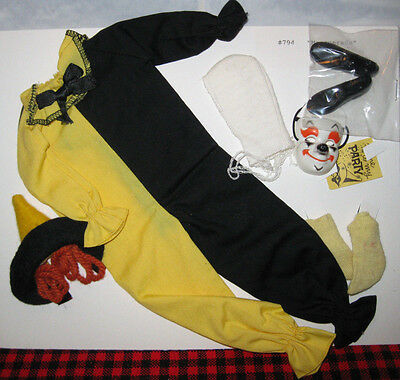1963 VINTAGE KEN OUTFIT~*MASQUERADE*~#794~MINT+COMPLETE SET~Plus Socks~NON-PLAY!