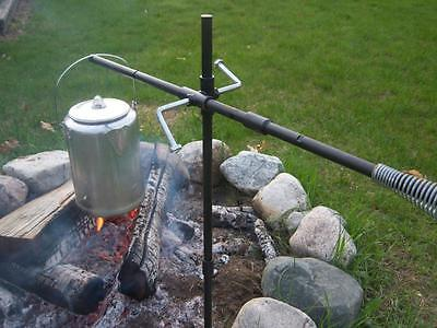 Campfire Fire Pit POT DANGLER/Hanger. The Perfect Campfire Grill. Camp Cooking