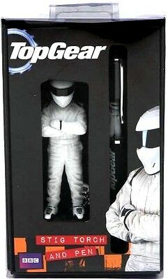 Top Gear - The Stig Keychain Torch & Pen Gift Set NEW In Box