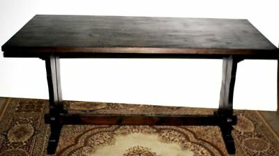 Antique Pine Dismountable Dining Table - FREE Delivery [PL1611]