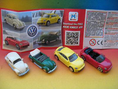 New @@@ Volkswagen - Cars  Kinder  Surprise  Egg  Italy