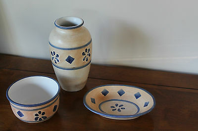 Ports of Call Vintage Ceramic Trio by Jeff Banks