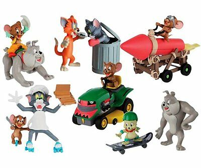 Officially Licensed Tom and Jerry Classic Chaos Collection Action Figures Age 3+
