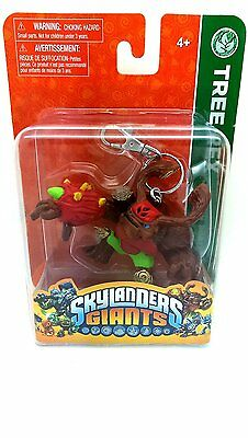 Officially Licensed Skylanders Giants Figure Keychain Crusher Hot Head Tree Rex