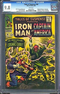 Tales Of Suspense #80 Cgc 9.8 1St App Cosmic Cube - Thanos Avengers Infinity War