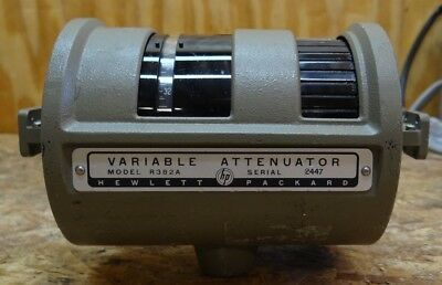 Hp Variable Attenuator Model R382A