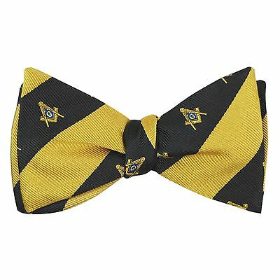 F2300 - Mason/Masonic Bow Tie and Handkerchief