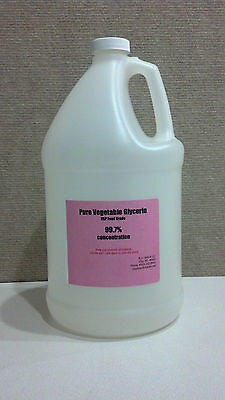 1 GAL. PURE ORGANIC GLYCERIN Non GMO Vegetable Food Grade -USP Kosher-PALM SEED