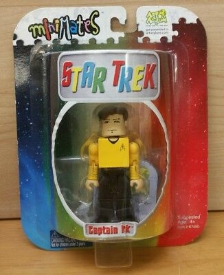 Star Trek Captain Kirk 3 1/2 in Minimates Brand New Condition Art Asylum