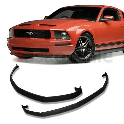 2005-2009 Ford Mustang V6 Classic CDC Front Lower Valance PU Bumper Spoiler Lip