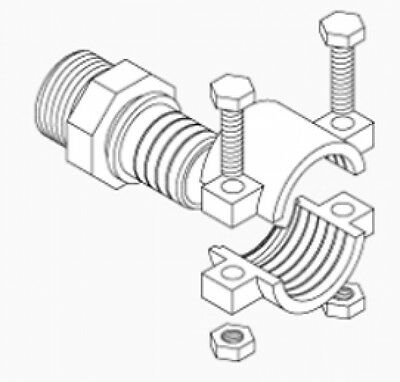 Central Boiler Pex Brass Clamp Fittings 1