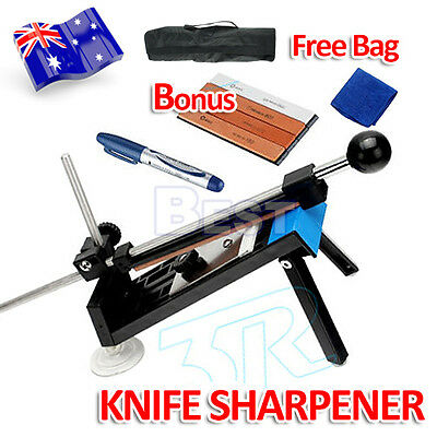 Professional Knife Sharpener Kitchen Sharpening System Fix-angle With 4 Stones