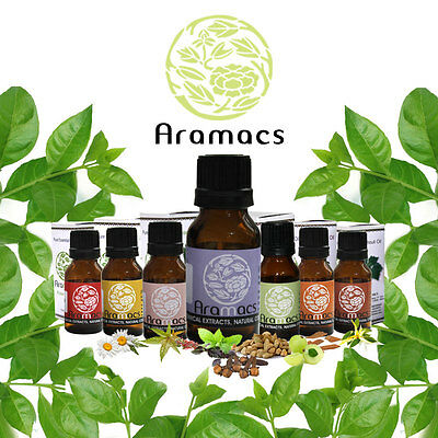 Essential Oils 100% Pure and Natural 15 ML ~ 0.50 floz