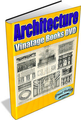 ARCHITECTURE 252 Vintage Books on DVD - arcitects