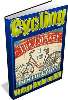 CYCLING 62 Vintage Books on DVD - Bicycle,Tricycle,Penny Farthing
