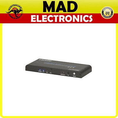 3 Way HDMI 2.0 Switcher with Remote