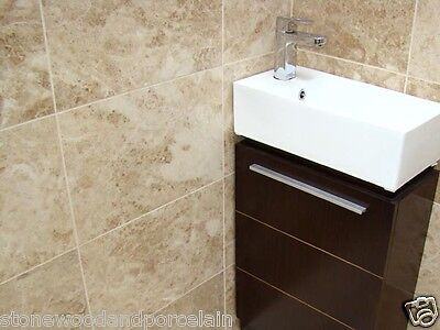 CAPPUCCINO 406x406x12mm POLISHED MARBLE FLOOR & WALL TILES £34.99 PER SQM