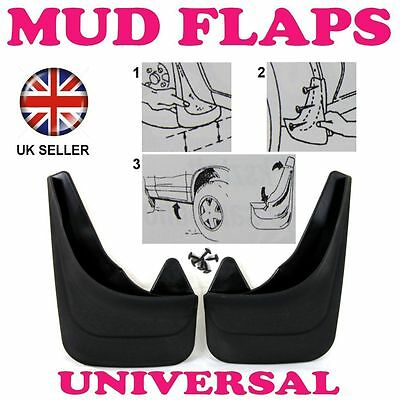 Front Rubber Moulded MUDFLAPS 2x Mud Flaps Universal Fit For DACIA