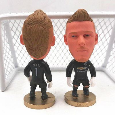 Statuina DAVID DE GEA #1 MANCHESTER UNITED FC 2016 football action figure 7 cm