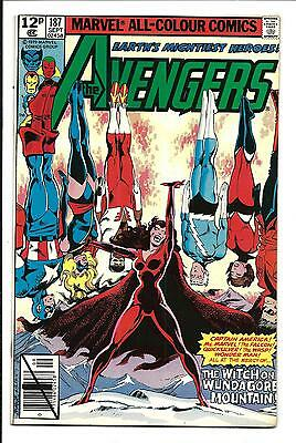 Avengers # 187 (John Byrne Art, Sept 1979), Nm