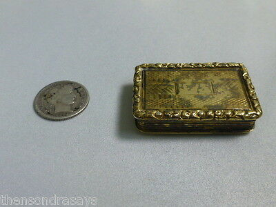 Antique Nathaniel Mills Sterling Geogian Vinaigrette
