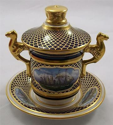 Spode - The SS Great Britain - cup lid and stand No 6 of 500 Mint & Boxed Naval
