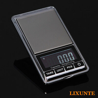 1PCS Portable Small LCD Electronic Digital Jewelry Scale 100g/200g/300gx0.01g XT