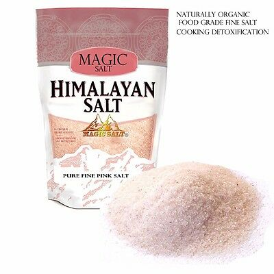 Himalayan Pink Salt 1kg Unrefined Pure - Naturally Organic - Food Grade