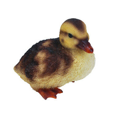 Squatting Duckling Garden Ornament by Vivid Arts NF-DK22-F