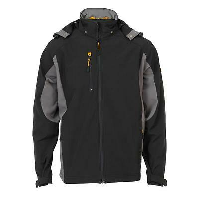JCB Stretton soft-shell wind-proof water-repellent jacket size XS - 3XL