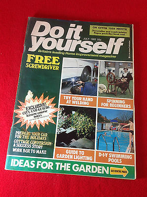 Vintage magazine do it yourself october 1961 300 picclick uk vintage do it yourself magazine july 1982 solutioingenieria Gallery