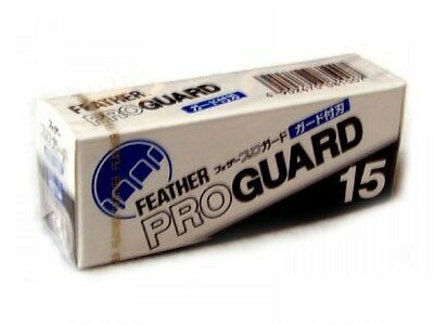 Feather 15 pieces of Feather Pro Guard Blade PG-15 Japan NEW PROGUARD F/S
