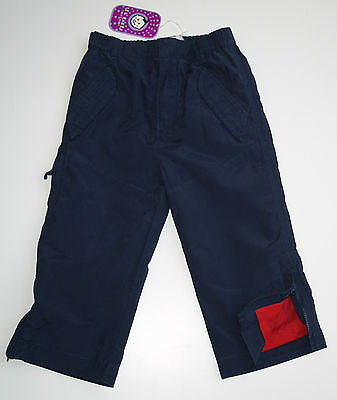 Brand New With Tag Ted Baker Boys Navy Blue Trousers Age 18 months Mesh Lining