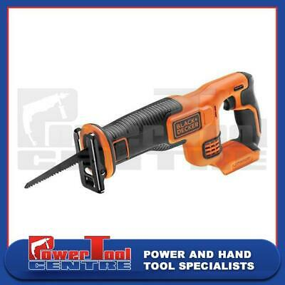 Black & Decker Reciprocating Saw BDCR18 18V 20mm Length Variable Speed Body Only
