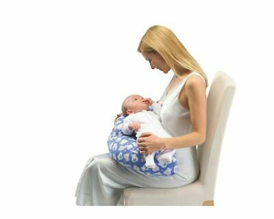 Inflatable Breastfeeding Maternity Nursing Baby Support Travel Pillow with Cover