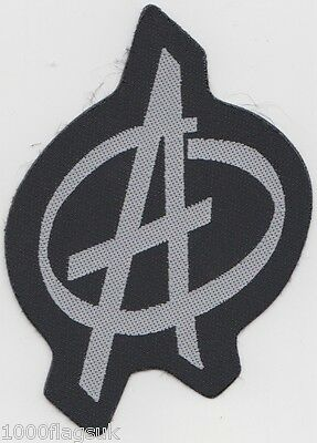 Anarchy Punk Embroidered Patch Badge