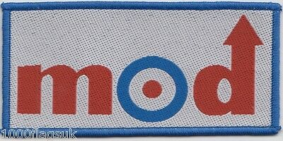 MOD Target Embroidered Patch Badge
