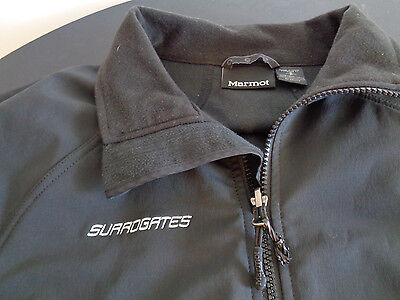 SURROGATES Movie Promotional Crew MARMOT Jacket BRUCE WILLIS Size Small 2009