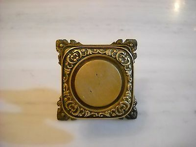 Vintage Greece Solid Brass Large Door Knob Handle Push/Pull #8