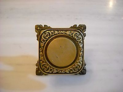 Vintage Greece solid brass large door knob handle D8