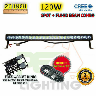 PEC 26INCH 120W CREE LED FLOOD/SPOT LIGHT BAR For  MINI COUNTRYMAN