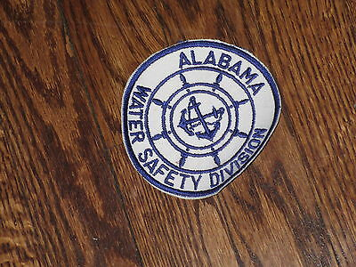 alabama water safety division  ,patch,new old stock ,1960'sSET OF 2
