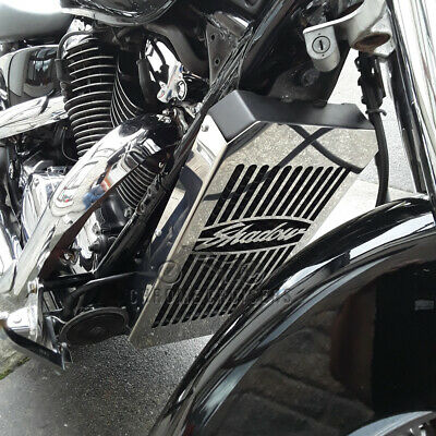 Honda Vt 1100  Shadow (2000 - 2007) Stainless Steel Radiator Cover Guard Grill