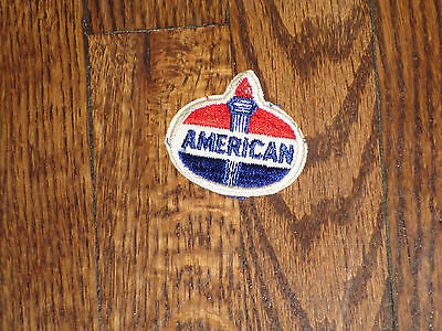 "american,(standard  oil)patch,50's new old stock ,2.25x2"",for hat or pocket"