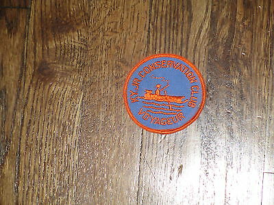 conservation club kentucky, voyager  patch,nos,1960's
