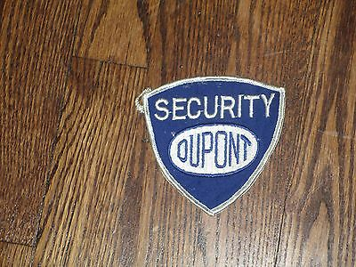 dupont security  , patch new old stock,1960's