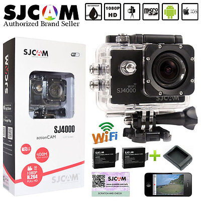 NEW VERSION SJ4000 WIFI Camera HD 1080P Sports DV Cam Waterproof Helmet DVR